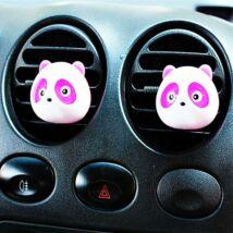 Panda dekor illatosító, 2 db, pink