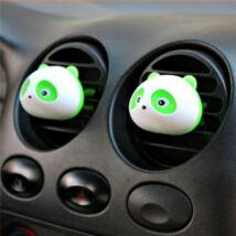 Panda dekor illatosító, 2 db, zöld