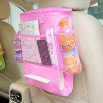 Sok zsebes tároló, hőszigetelt belsővel PINK