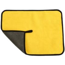 Autó tisztító kendő sárga