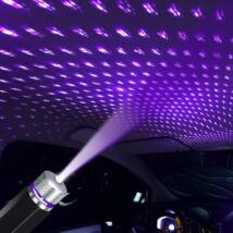 USB led projektor beltéri party világítás LILA