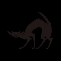 Vigyorgó macska autó matrica fekete #445