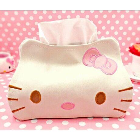 Hello Kitty zsebkendő tartó és adagoló
