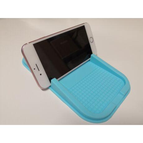 Csúszásmentes mobiltartó műszerfalra kék