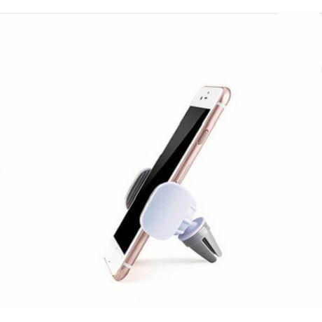Szellőzőrácsba illeszthető mobiltartó fehér