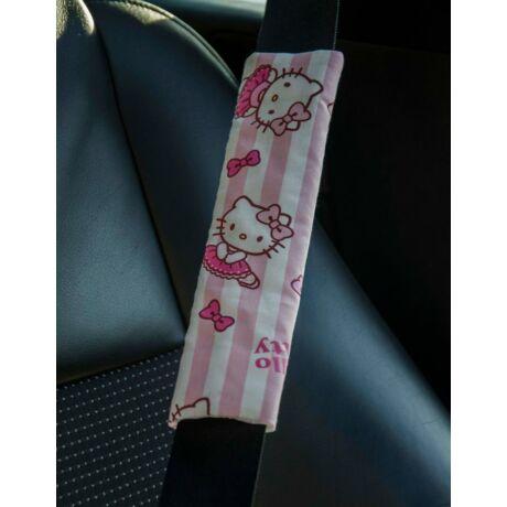 Hello Kitty mintás biztonsági öv párna