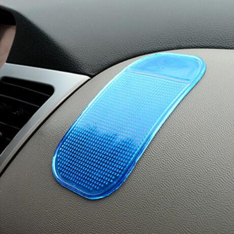 Mágikus, tapadó és csúszásgátló mobiltartó kék