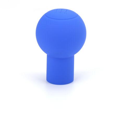 Szilikon váltógomb huzat, kék