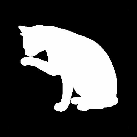 Mosakodó macska autó matrica fehér #381