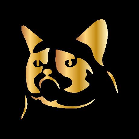 Grumpy cat autó matrica arany #428