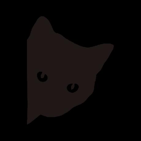 Macskafej autó martica fekete #430