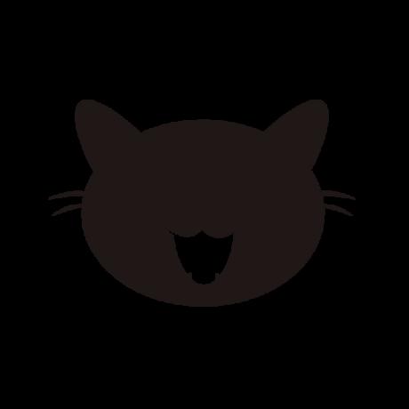 Nyávogó macska autó matrica fekete #450