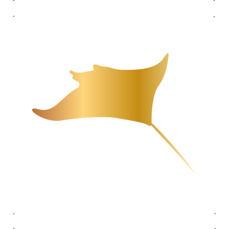 Rája autó matrica arany #603