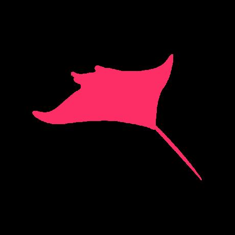 Rája autó matrica pink #602