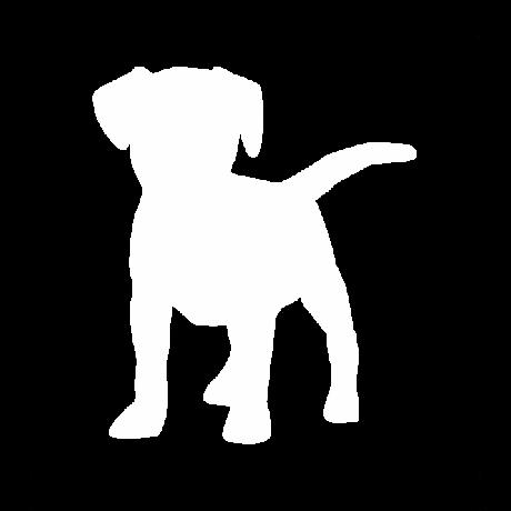 Beagle kutya autó matrica fehér #177