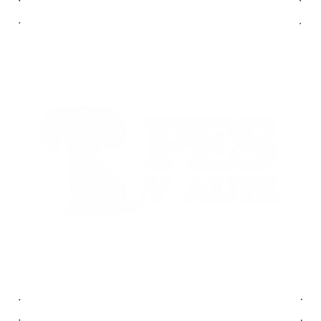 Pes Vaute(kutya) autó matrica fehér #247
