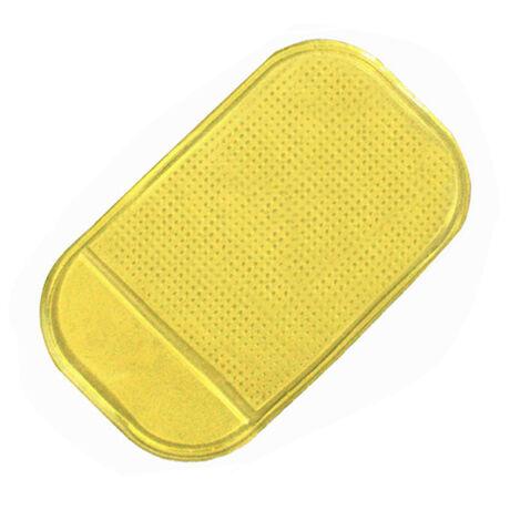 Mágikus, tapadó és csúszásgátló mobiltartó sárga
