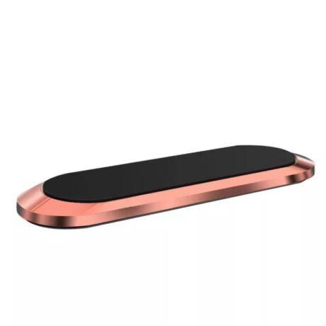 Mágneses, ragasztható mobiltartó ezüst