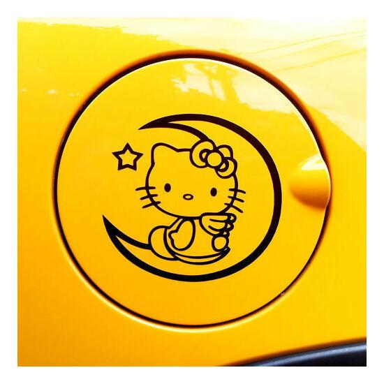 Hello Kitty matrica, FEKETE