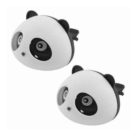 Panda dekor, illatosító 2 db FEKETE