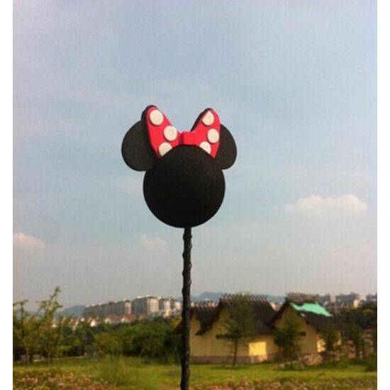 Autó antenna labda-Minnie Mouse piros masni