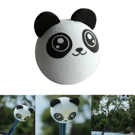 Autó antenna labda-Panda fej